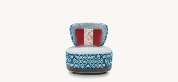JU JU SMALL ARMCHAIR LONDON MOROSO