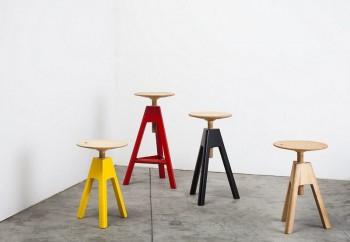VITOS  MINIFORSM BAR STOOLS .
