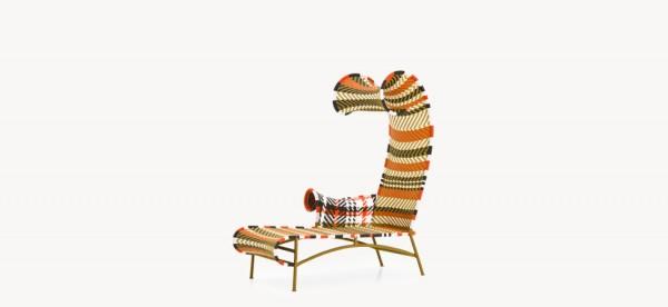 shodow chaise longue moroso outdoor
