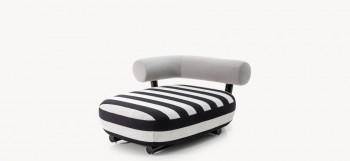 moroso Pipe chaise longue
